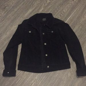 Corduroy Jacket Black